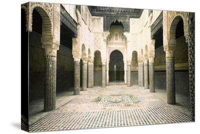 The Madrasa at Sale-Werner Forman-Stretched Canvas Print