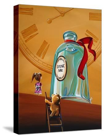 Looking For Alice-Cindy Thornton-Stretched Canvas Print