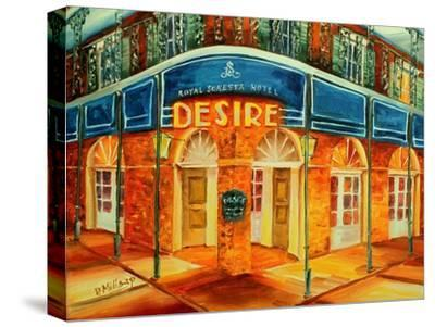 Desire Oyster Bar-Diane Millsap-Stretched Canvas Print