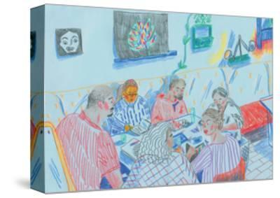 Drawing Club-Sol Jeong-Stretched Canvas Print