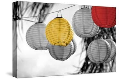 Lanterns-Gail Peck-Stretched Canvas Print