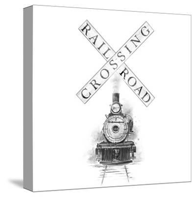 Railroad Crossing-Patricia Pinto-Stretched Canvas Print