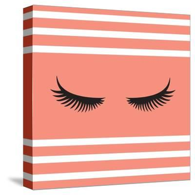 Lashes-Sd Graphics Studio-Stretched Canvas Print