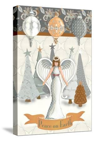Angel Wonderland Earth-Andi Metz-Stretched Canvas Print