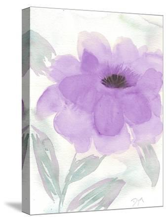 Lilac Peony II-Beverly Dyer-Stretched Canvas Print