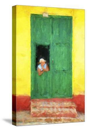 Cuba Painting - The Day I Met You-Philippe Hugonnard-Stretched Canvas Print