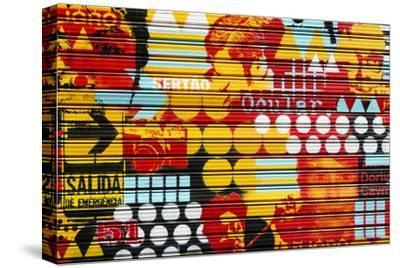 Made in Spain Collection - Colorful Blind Art-Philippe Hugonnard-Stretched Canvas Print