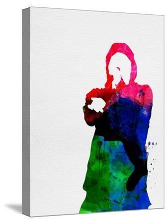 Eminem Watercolor-Lana Feldman-Stretched Canvas Print