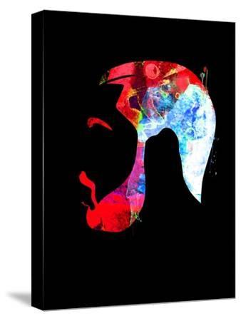 Drake Watercolor-Lana Feldman-Stretched Canvas Print