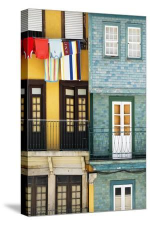 Welcome to Portugal Collection - Colorful Facades in Porto-Philippe Hugonnard-Stretched Canvas Print