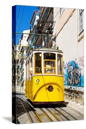Welcome to Portugal Collection - Lisbon Tramway-Philippe Hugonnard-Stretched Canvas Print