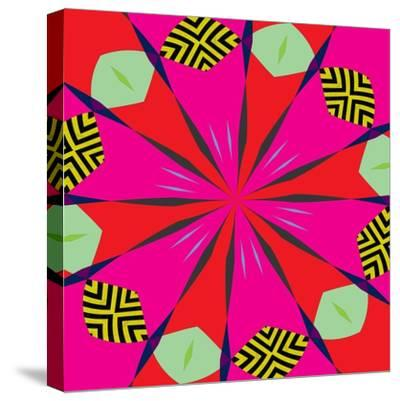 flowers #1,2019-Alex Caminker-Stretched Canvas Print