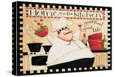 Home Is In The Kitchen-Dan DiPaolo-Stretched Canvas Print