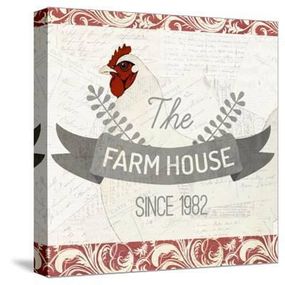 The Farm House-Kimberly Allen-Stretched Canvas Print