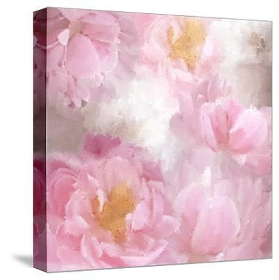 Painted Peonies-Kimberly Allen-Stretched Canvas Print