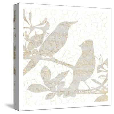 Bird Silhouette 2-Kimberly Allen-Stretched Canvas Print
