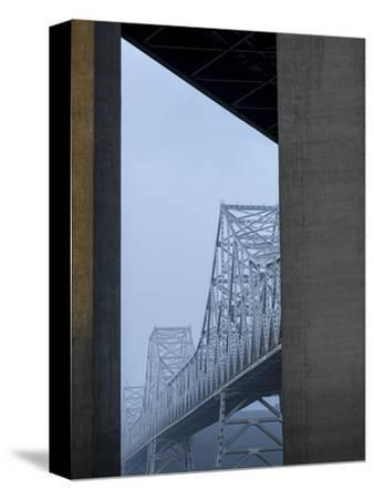 Carquinez Bridge, Crockett, California, USA-Panoramic Images-Stretched Canvas Print