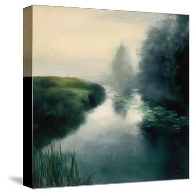 Twilight Fog Neutral-Julia Purinton-Stretched Canvas Print