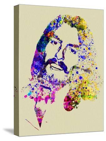 Legendary George Harrison Watercolor II-Olivia Morgan-Stretched Canvas Print