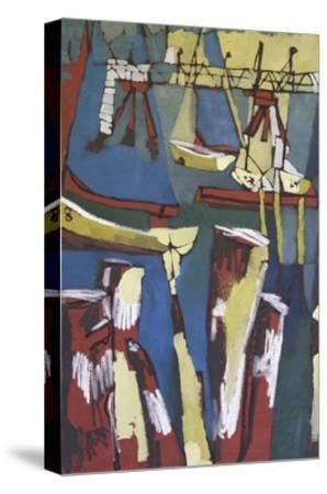 Maine Sails Portland I-Erin McGee Ferrell-Stretched Canvas Print