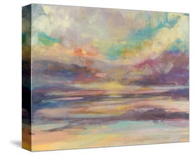 Sunset Light II-Jennifer Goldberger-Stretched Canvas Print