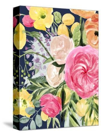 Blossomy Gathering III-Grace Popp-Stretched Canvas Print