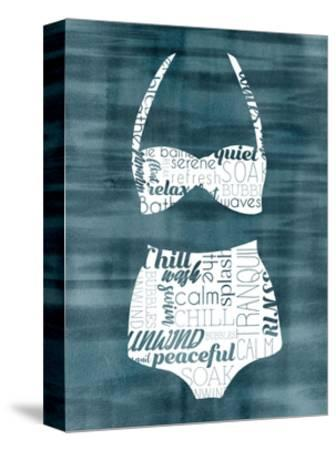 Suit Speak III-Grace Popp-Stretched Canvas Print