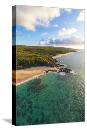 Laau point, Molokai, Hawaii-Douglas Peebles-Stretched Canvas Print