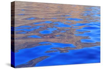 Rugged cliffs and shoreline on the South Shore of Lanai, Kaunoe'U, Hawaii, USA-Stuart Westmorland-Stretched Canvas Print