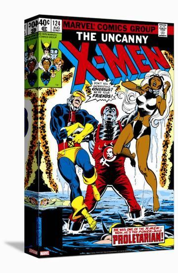 Uncanny X-Men No.124 Cover: Storm, Colossus and Cyclops-Dave Cockrum-Stretched Canvas Print