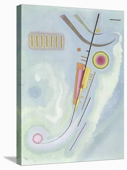 Untitled-Wassily Kandinsky-Stretched Canvas Print