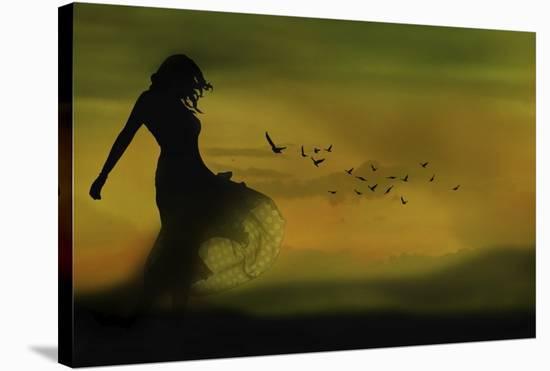 Untitled-Leyla Emektar La-Stretched Canvas Print