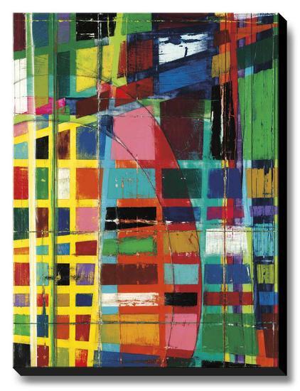 Urban Sunset-Dante Vida-Stretched Canvas Print