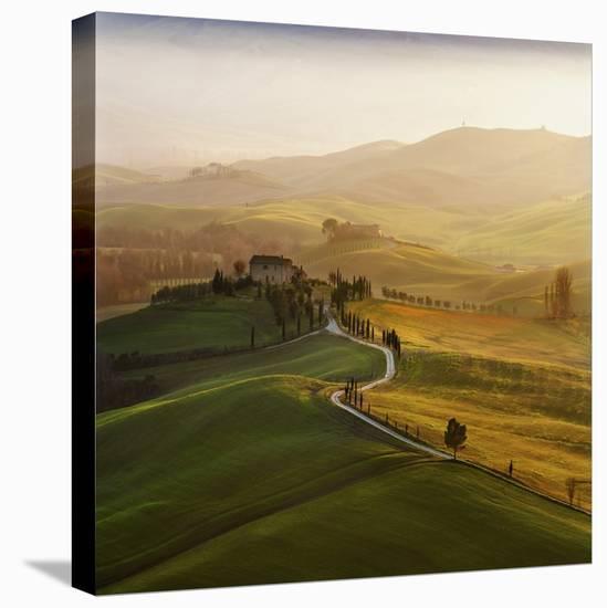 Val D'Orcia-Jarek Pawlak-Stretched Canvas Print