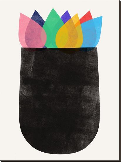 Vase Study 1 Stretched Canvas Print Garima Dhawan Art Com