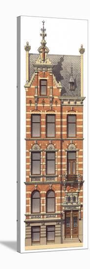 Victorian House 2--Stretched Canvas Print