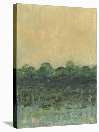 Viridian Marsh II-J. Holland-Stretched Canvas Print
