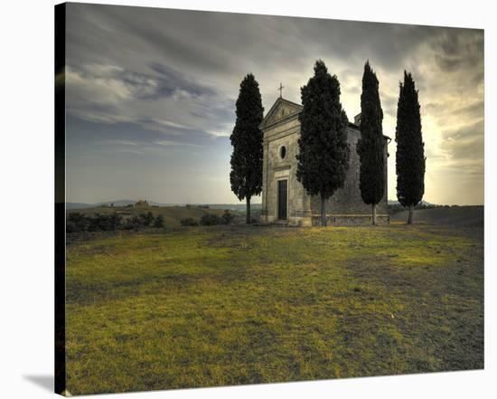 Vitaleta Chapel-Richard Desmarais-Stretched Canvas Print
