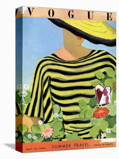Vogue Cover - May 1934 - Glam Gardening-Alix Zeilinger-Stretched Canvas