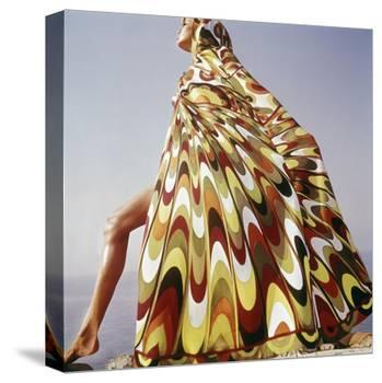 Vogue - January 1965 - Pucci Cover-up-Henry Clarke-Stretched Canvas