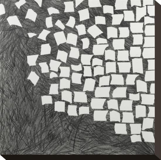 Wandering Grid 1-Lynn Basa-Stretched Canvas Print