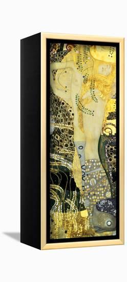 Water Serpents I, c.1907-Gustav Klimt-Framed Canvas Print