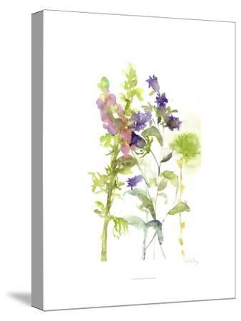 Watercolor Floral Study I-Melissa Wang-Stretched Canvas Print