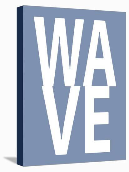 Wave Blue-Jamie MacDowell-Stretched Canvas Print