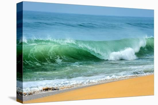 Wave of the Ocean-byrdyak-Stretched Canvas Print