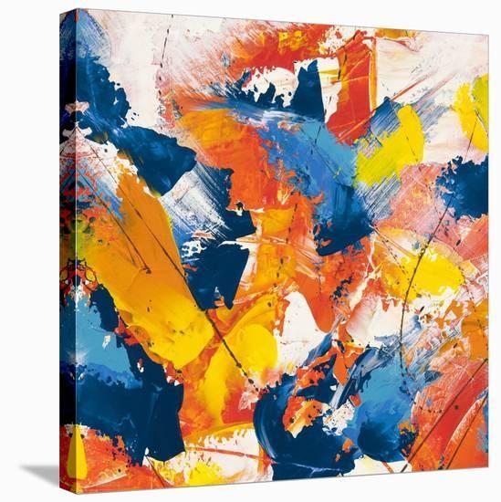 Waves crashing in the summer sky II-Bob Ferri-Stretched Canvas Print