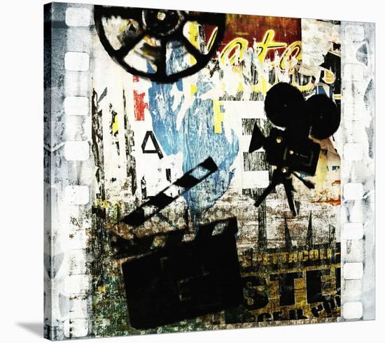We love Movies-Irena Orlov-Stretched Canvas Print