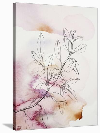 Whisper Petals III-Hope Bainbridge-Stretched Canvas Print