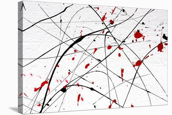 White Wall-Abstract Art Detail--Stretched Canvas Print