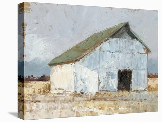 Whitewashed Barn I-Ethan Harper-Stretched Canvas Print